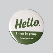 Bad-mannered Badges | Hello