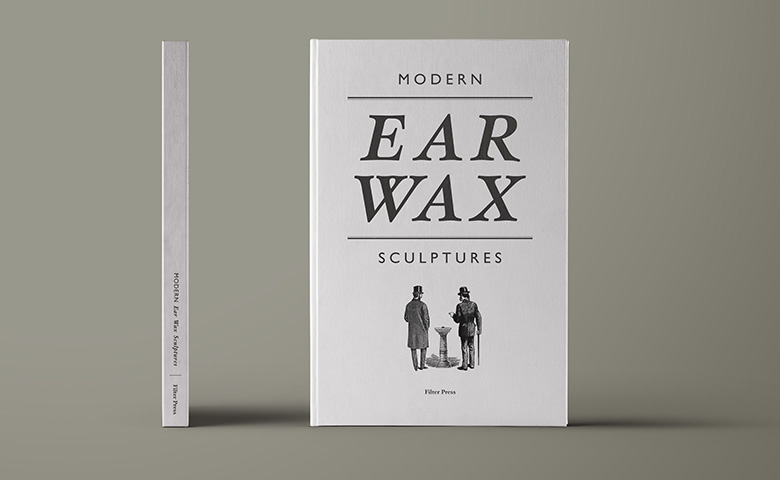 Fake Notebooks | Modern Ear Wax Sculptures