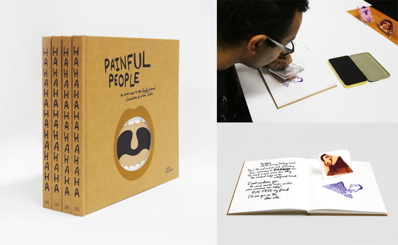 Painful People | A limited edition handmade art book