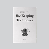 Fake Notebooks | Effective Bee keeping
