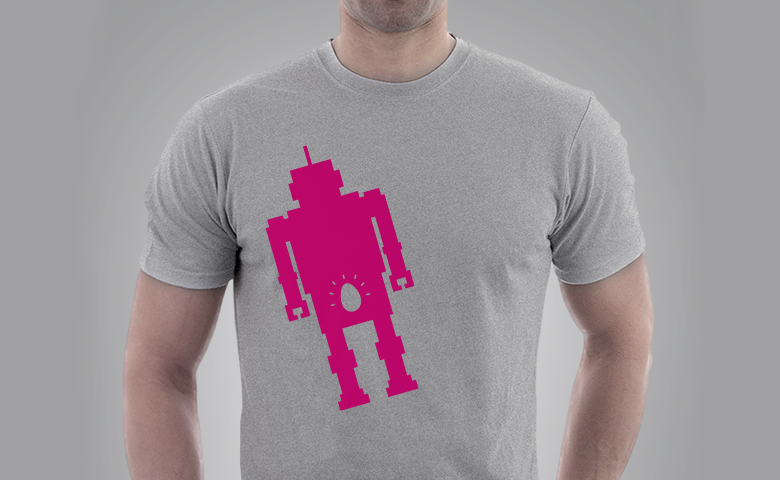 Egg Tee Grey | Reproductive Robot