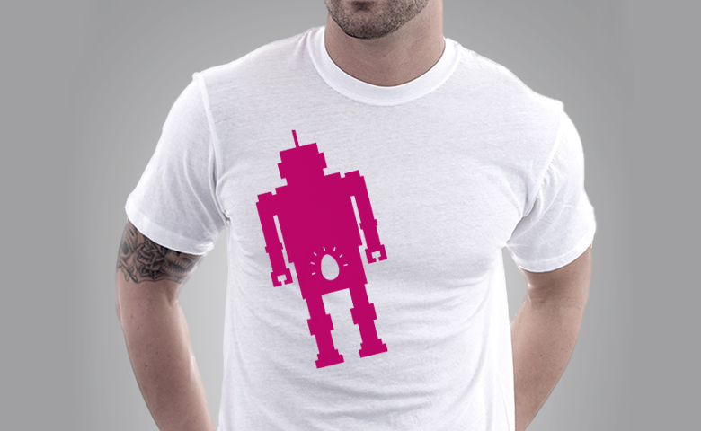 Egg Tee White | Reproductive Robot
