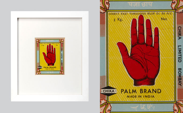 Textile Label - Mounted | Palm