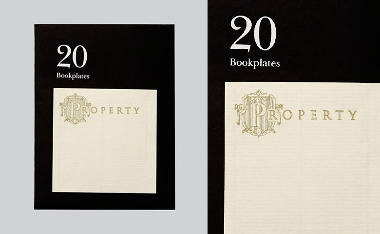 Literarian Book Plates | Property