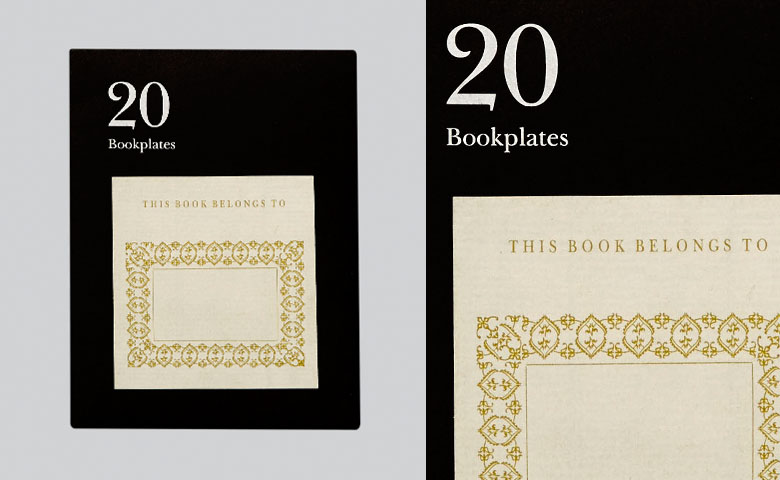 Literarian Book Plates | This Book Belongs To