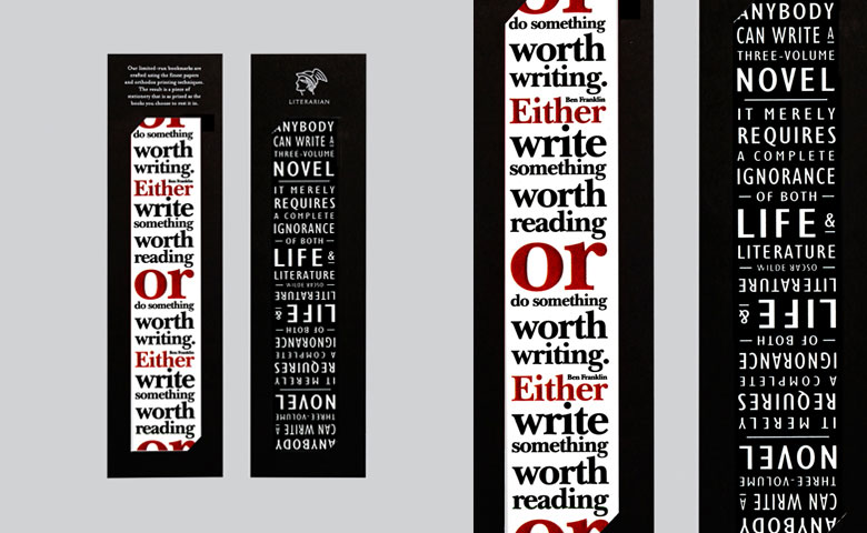 Literarian Bookmarks | Set 4