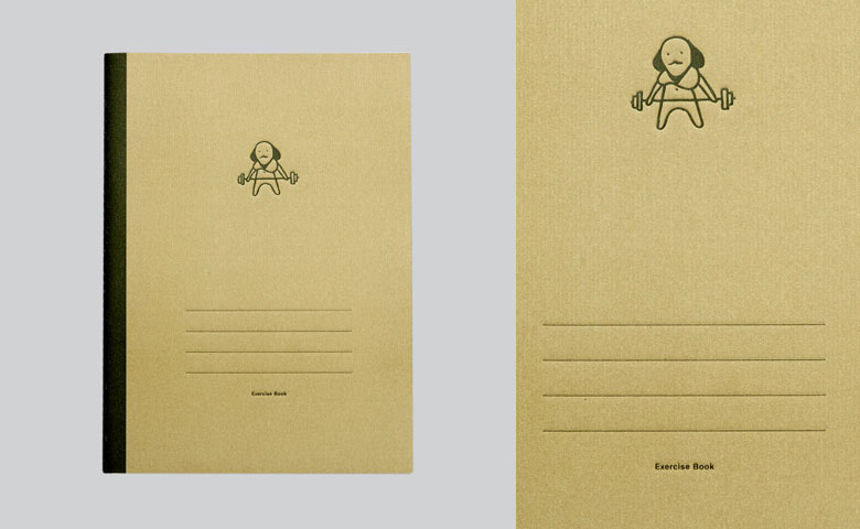 Literarian Notebook - L | Shakespeare exercise book