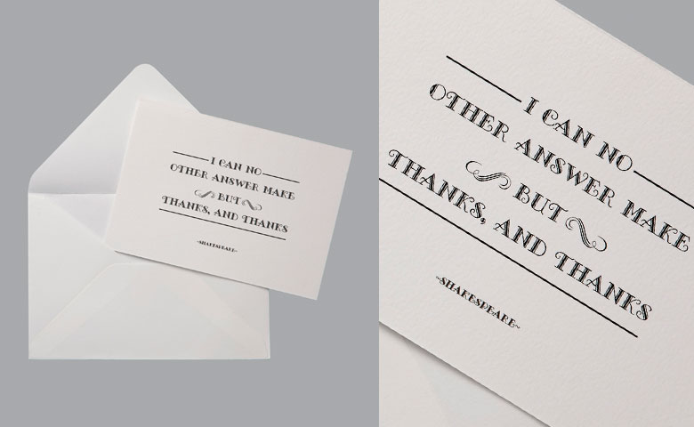 Thank You Card | Thanks, Thanks, Thanks