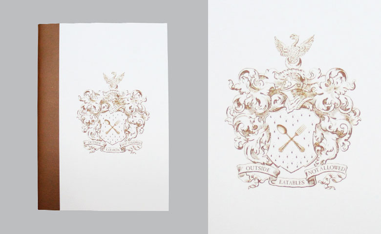 Quirky Heraldic Crest | Notebook